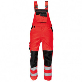 KNOXFIELD HV High visibility bib pants 1