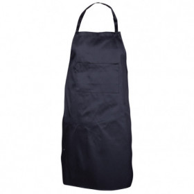 COOK BLACK Bib apron
