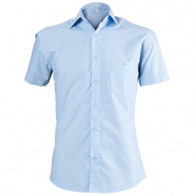 CAMISA LIGHT BLUE Men's short sleeve shirt