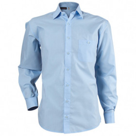 CAMISA LIGHT BLUE Men's long sleeve shirt