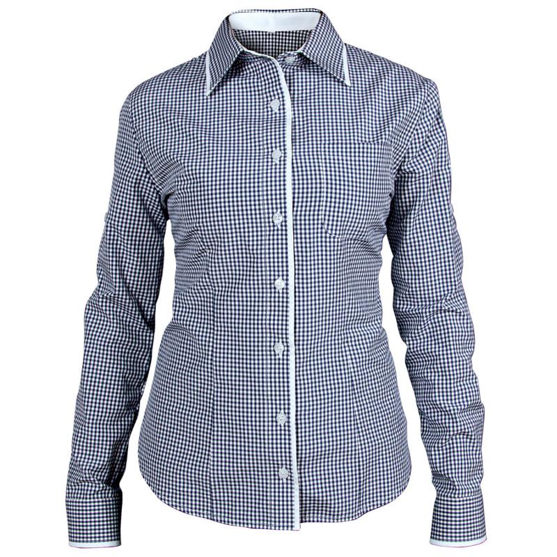 FLORIS BLUE Lady's long sleeve shirt