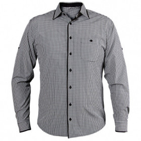 Мъжка риза FLORIS BLACK 1