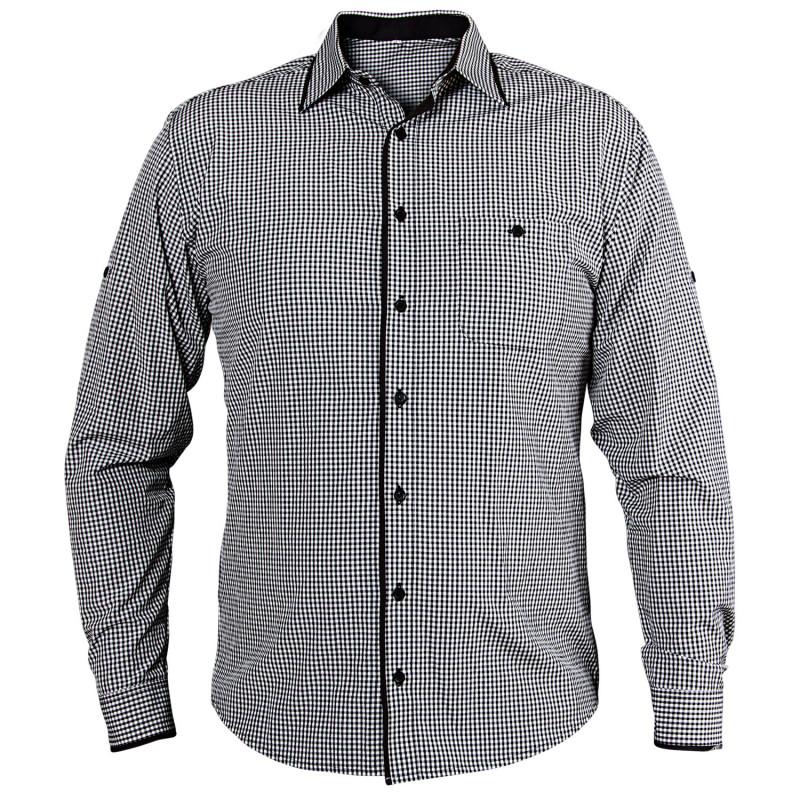 Мъжка риза FLORIS BLACK