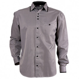 MODESTO BLACK Men's long sleeve shirt 1