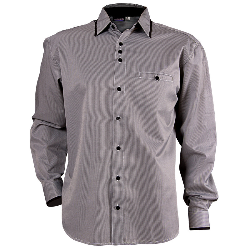 MODESTO BLACK Men's long sleeve shirt