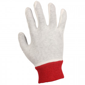 Lady's knitted gloves