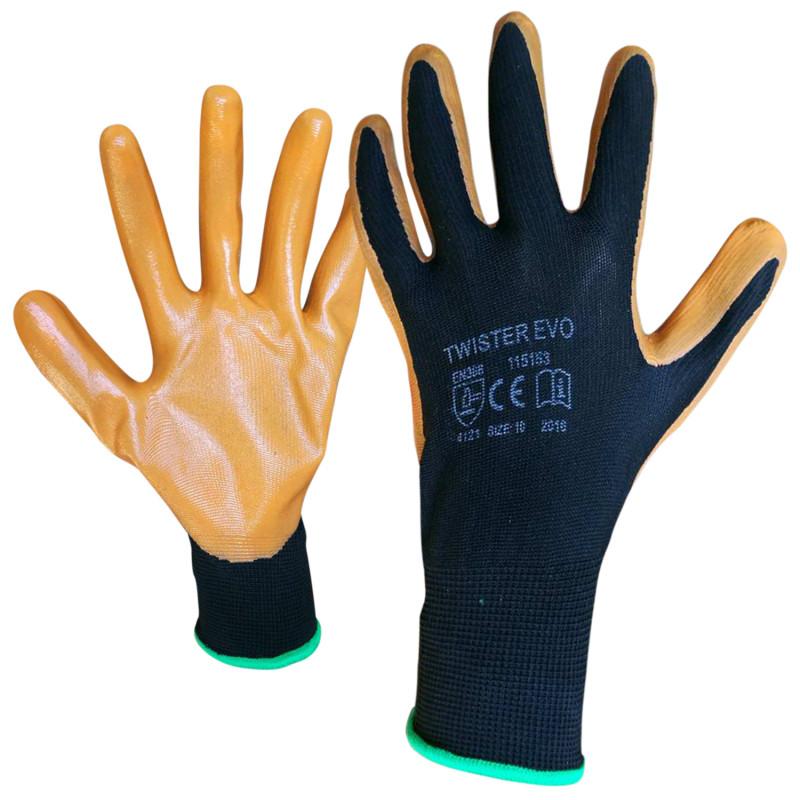 Ръкавици топени в нитрил CARD TWISTER EVO