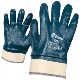 KN6 Nitrile dipped gloves
