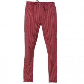 Панталон за готвачи ENRICO BORDEAUX STRIPE 1
