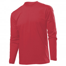 CLASSIC LS RED Long sleeve t-shirt
