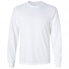 CLASSIC LS WHITE Long sleeve t-shirt