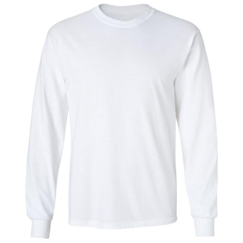 CLASSIC LS WHITE Long sleeve t-shirt