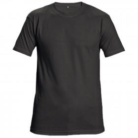SAGA BLACK T-shirt 1