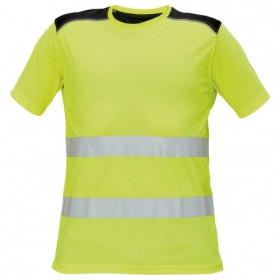 KNOXFIELD HV YELLOW High visibility t-shirt 1