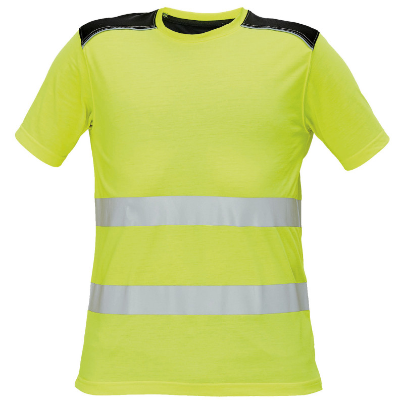 KNOXFIELD HV YELLOW High visibility t-shirt