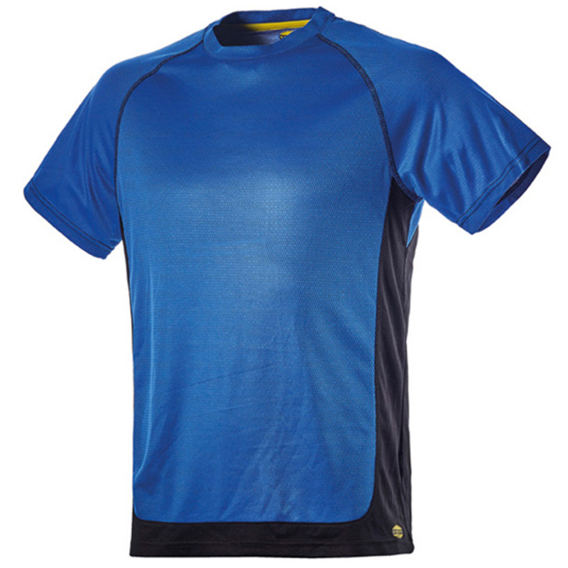 DIADORA TRAIL SS BLUE T-shirt