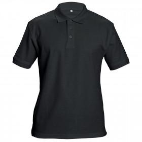 Тениска с яка SIFAKA BLACK 1