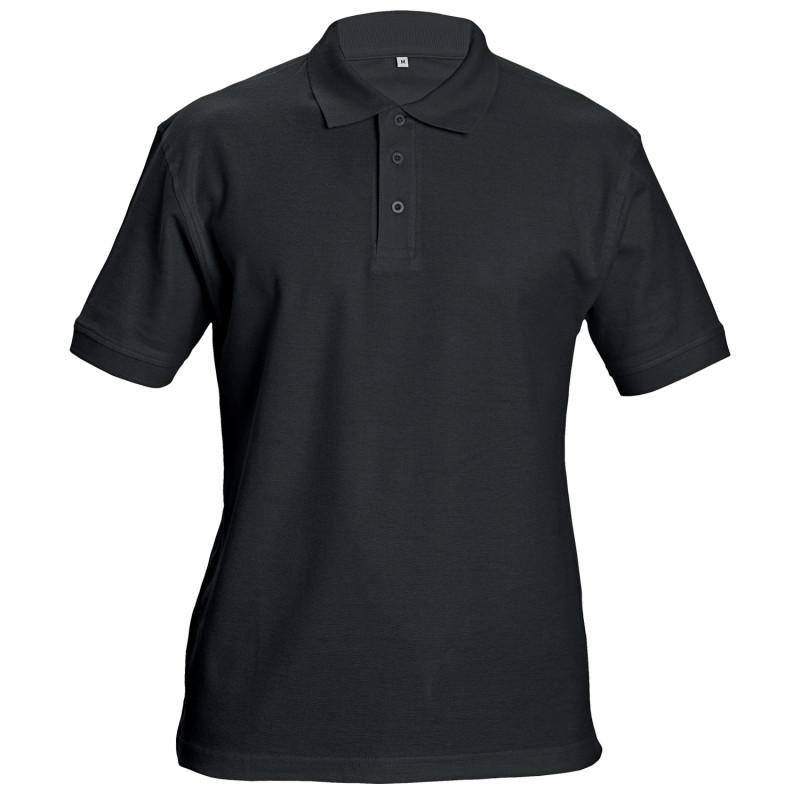 Тениска с яка SIFAKA BLACK