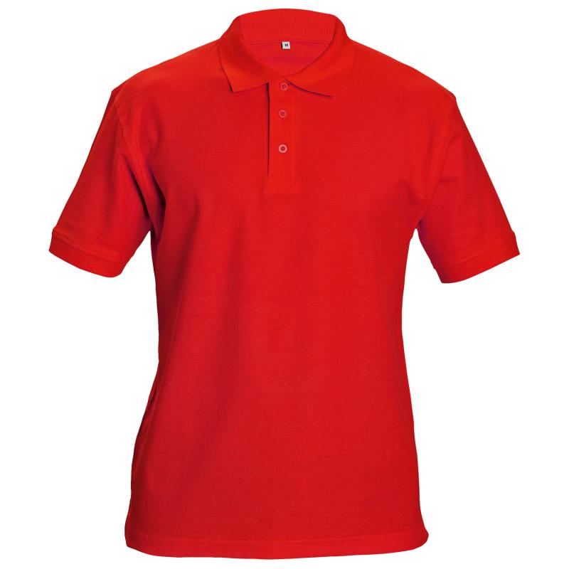 Тениска с яка SIFAKA RED