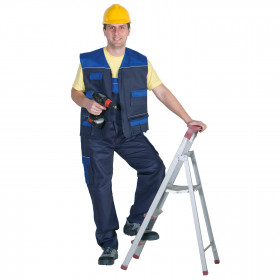 ASIMO BLUE Work vest 2