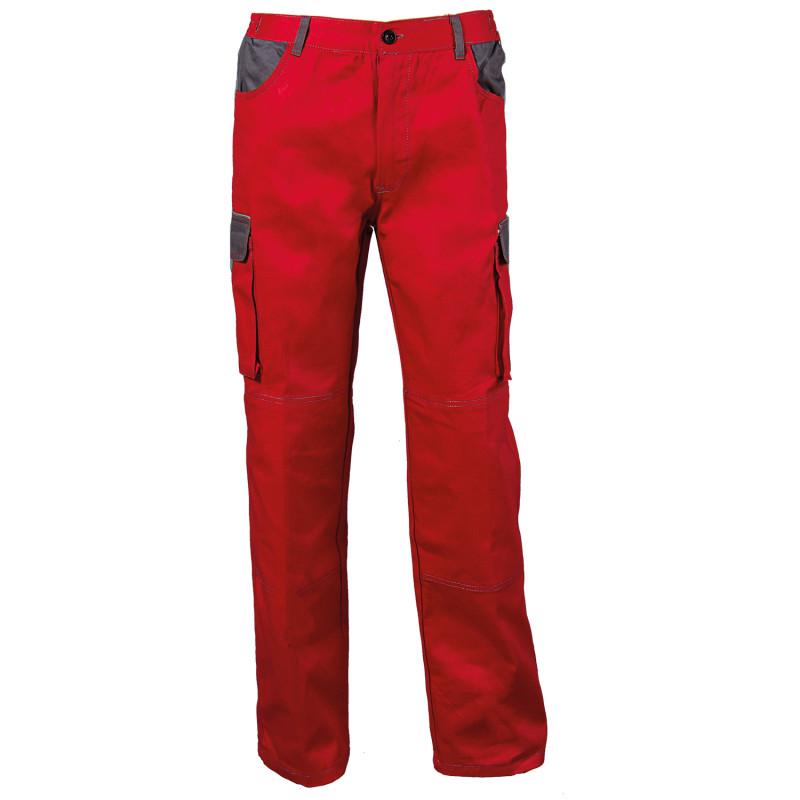 BG ASIMO RED Work trousers