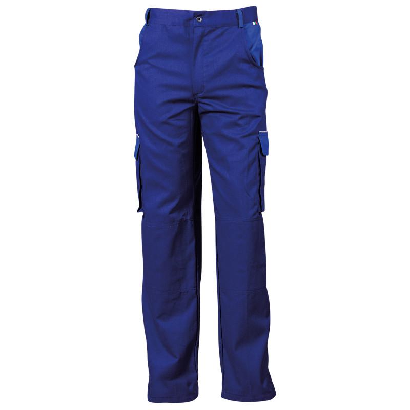 BG ASIMO BLUE Work trousers