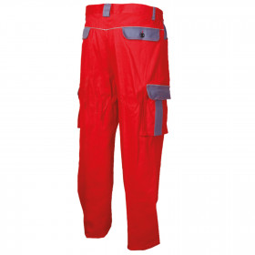 ASIMO RED Work trousers 2