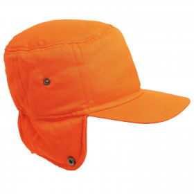 NORTH HV ORANGE High visibility winter hat