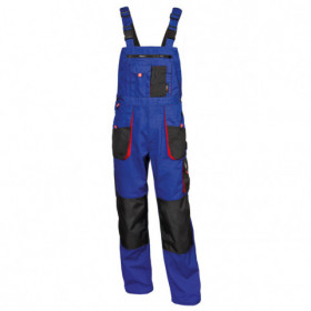 EMERTON ROYAL BLUE Work bib pants 1