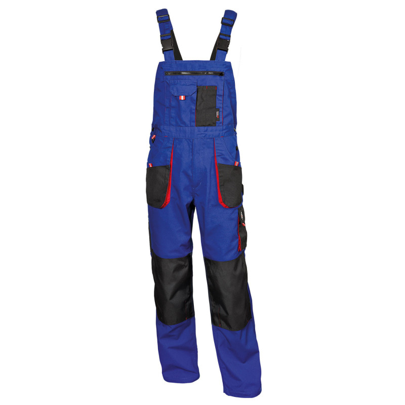 EMERTON ROYAL BLUE Work bib pants