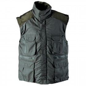DAVIDA GREEN Padded vest