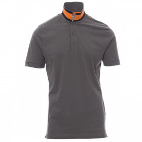 PAYPER MEMPHIS DARK GREY Polo t-shirt