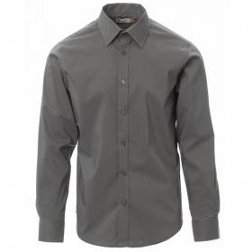 PAYPER IMAGE GREY Men's long sleeve shirt