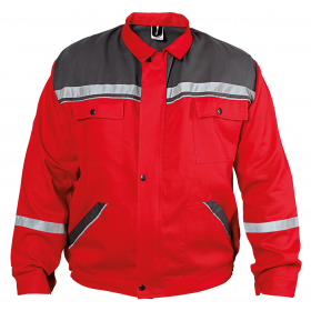 COLLINS SUMMER RED Work jacket
