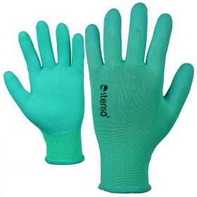 CATTLEY GREEN Latex dipped gloves