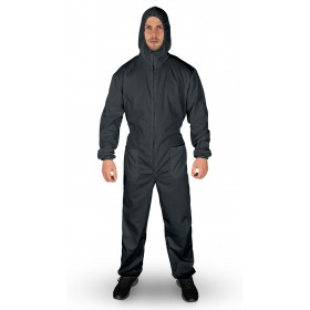 EASY COVER GREY Hooded coverall