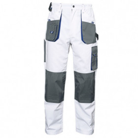 EMERTON WHITE Work trousers 1