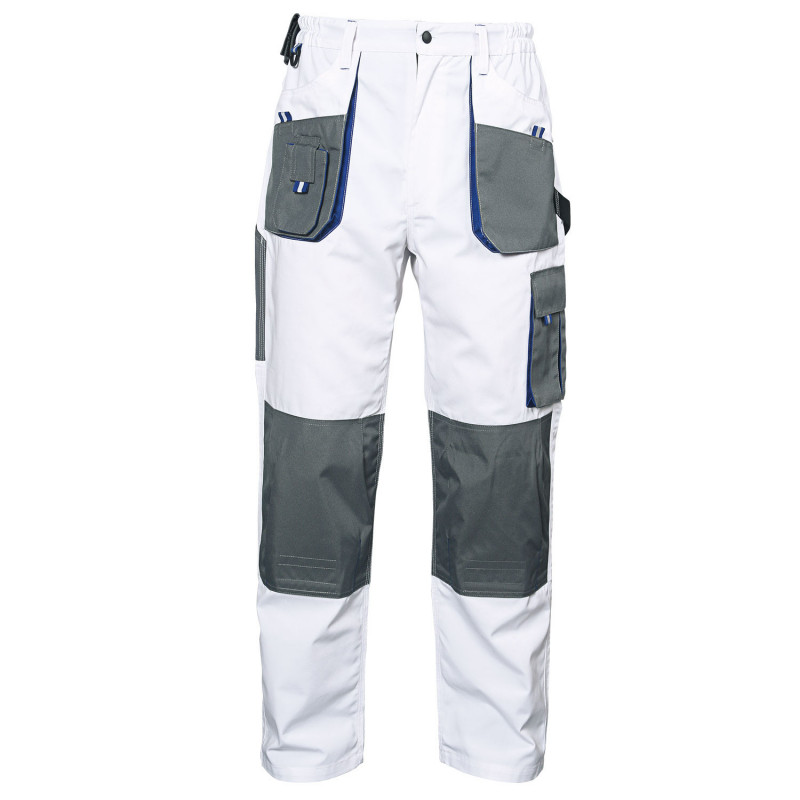 EMERTON WHITE Work trousers