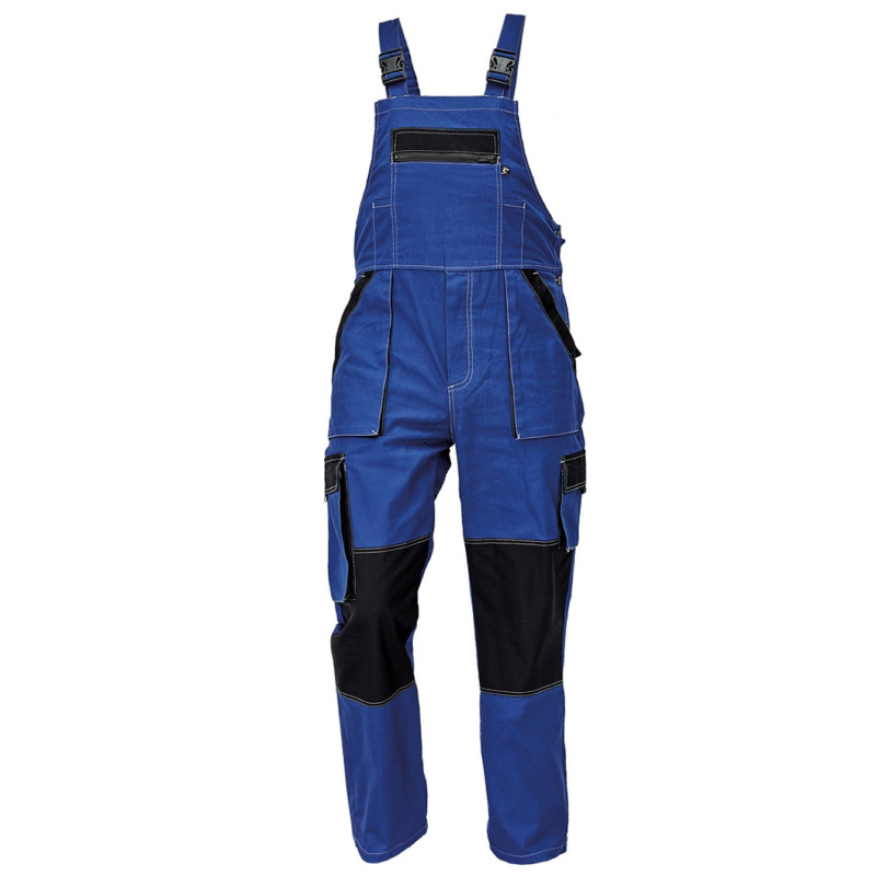MAX SUMMER BLUE Work bib pants