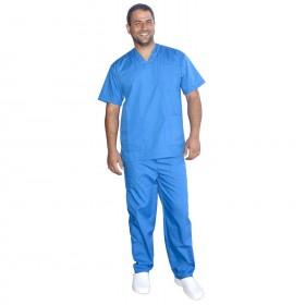 Медицински туника с панталон MK3 BLUE