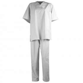 G3 WHITE Medical tunic with pants