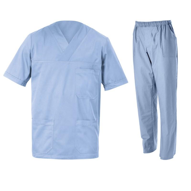 Медицински туника с панталон SIMONE LIGHT BLUE