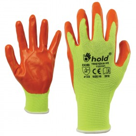 TWISTER HV Nitrile dipped gloves