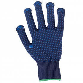 GANNET NAVY Knitted gloves