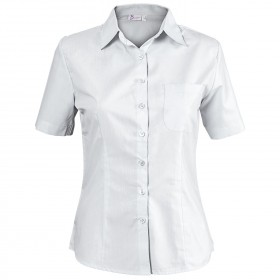 CAMISA WHITE Lady's short sleeve shirt