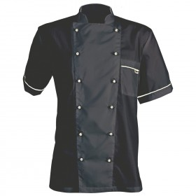 NAPOLI BLACK Chef's tunic