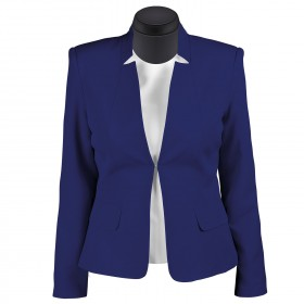 KARINA ROYAL BLUE Lady's blazer