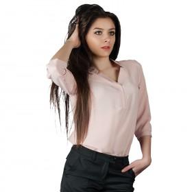 MIRA LIGHT PINK Lady's blouse 1