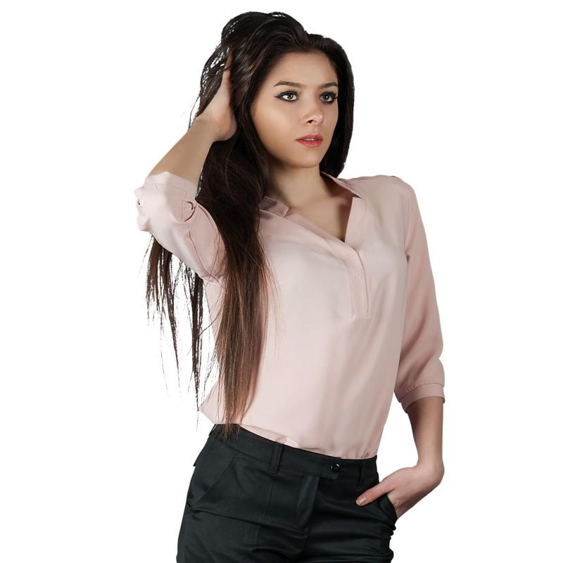 MIRA LIGHT PINK Lady's blouse