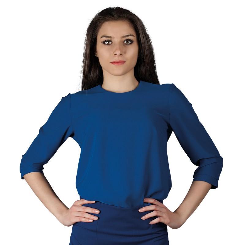 IVON ROYAL BLUE Lady's blouse